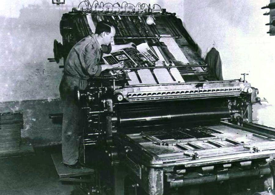 quien es el inventor de la imprenta